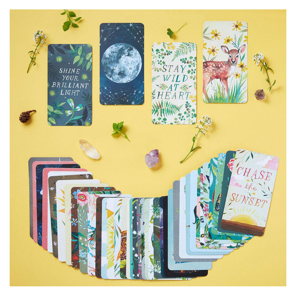 chronicle how to be a wildflower deck sample cards