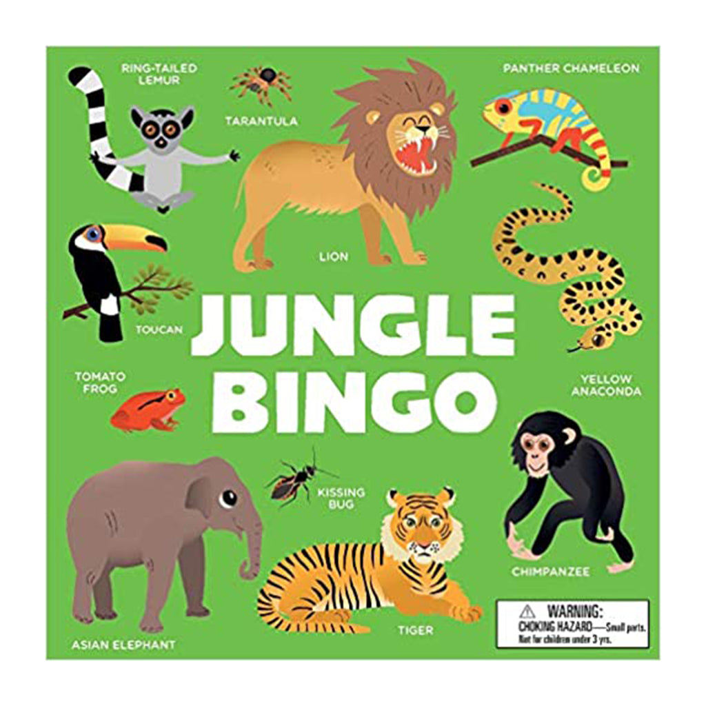 chronicle jungle bingo gamechronicle laurence king jungle bingo for kids packaging front
