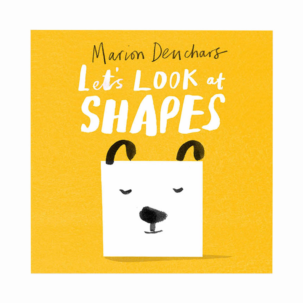 chronicle laurence king let's look at shapes illustrated baby board book cover