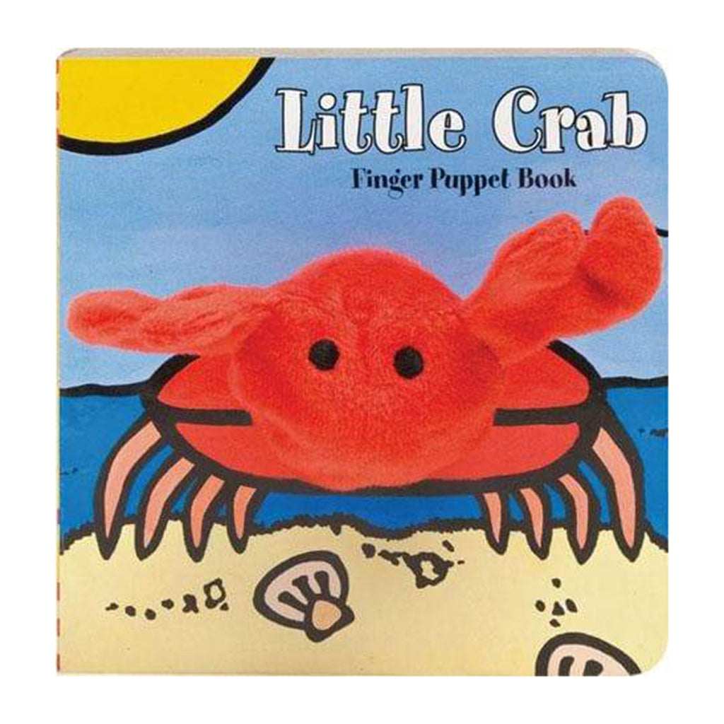 chronicle little crab finger puppet book hardcover