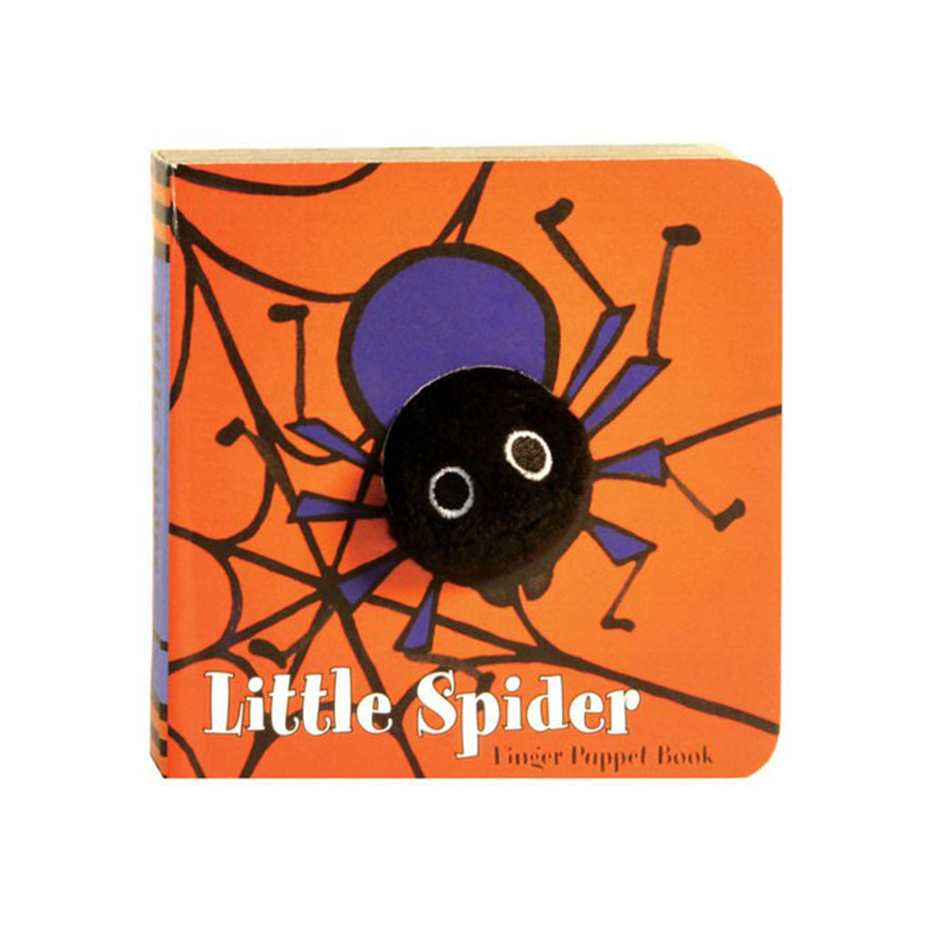 Little Spider Finger Puppet Halloween Board Book