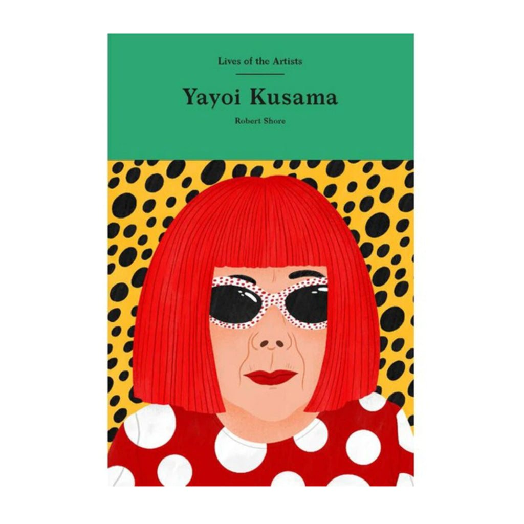 chronicle laurence king lives of the artists yayoi kusama book cover