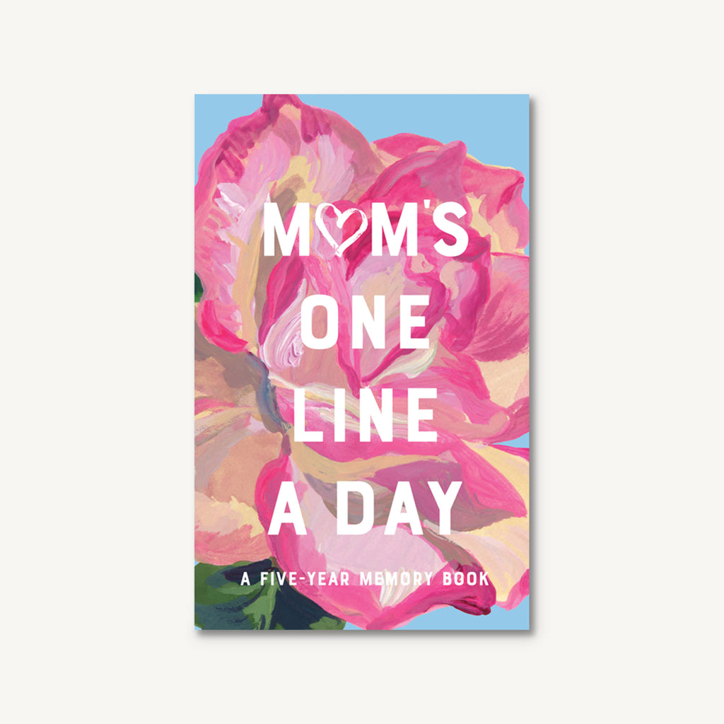 chronicle moms floral one line a day five year memory book journal cover
