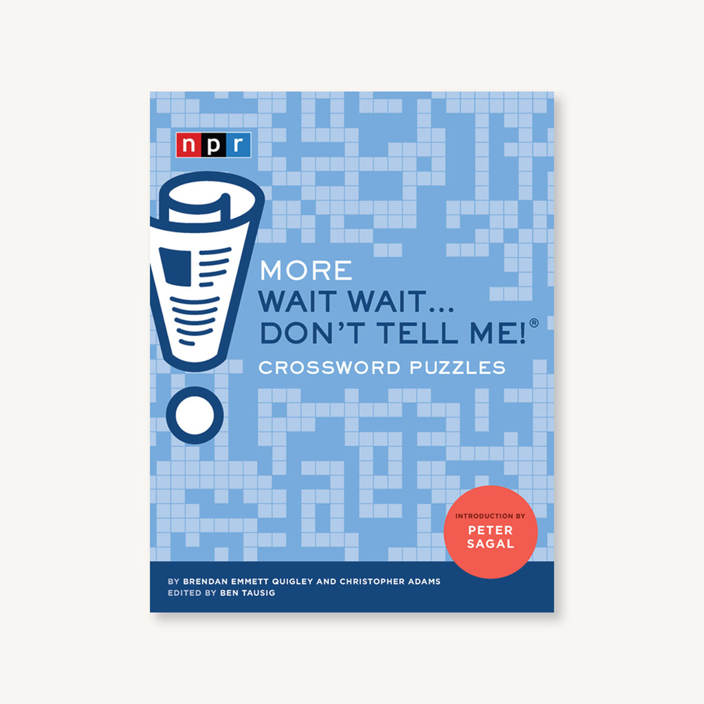 chronicle more wait wait don't tell me npr quiz show crossword puzzles book cover