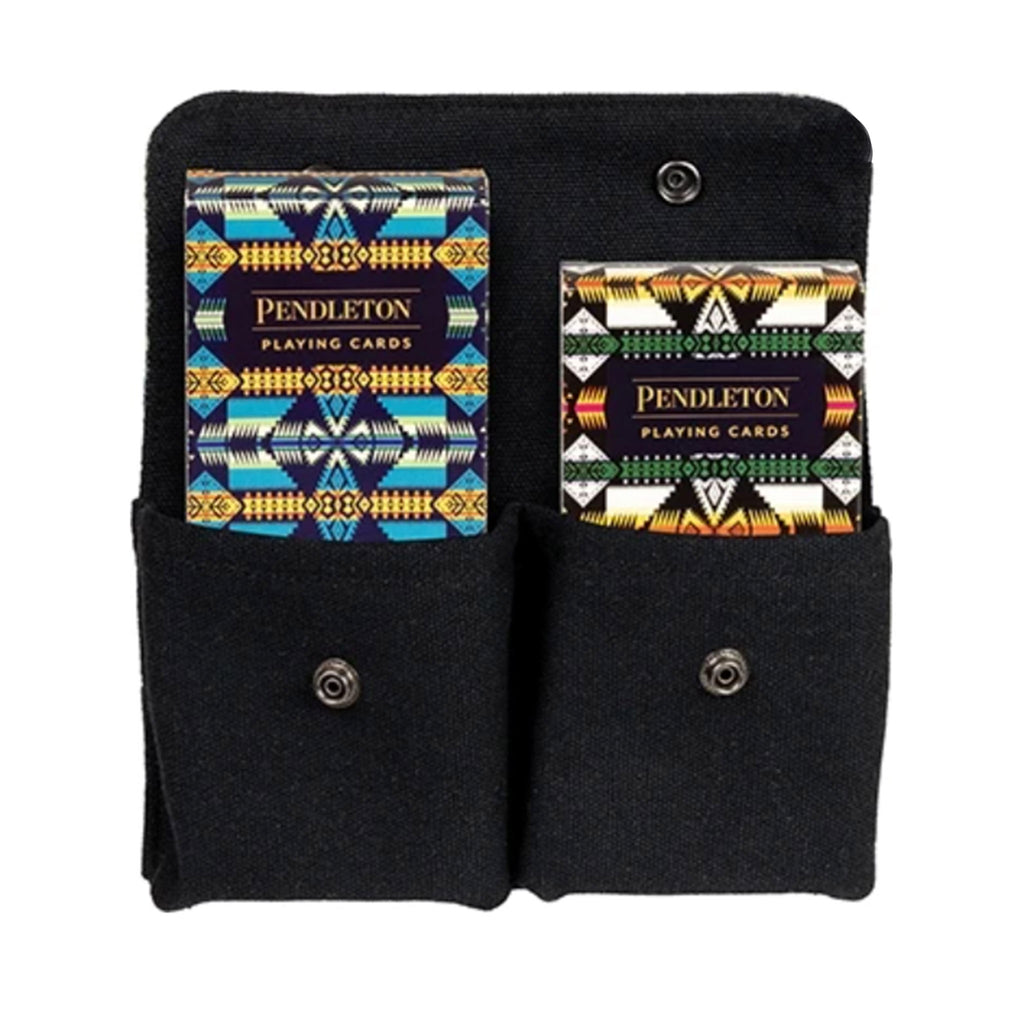chronicle pendleton playing cards two deck set in pouch