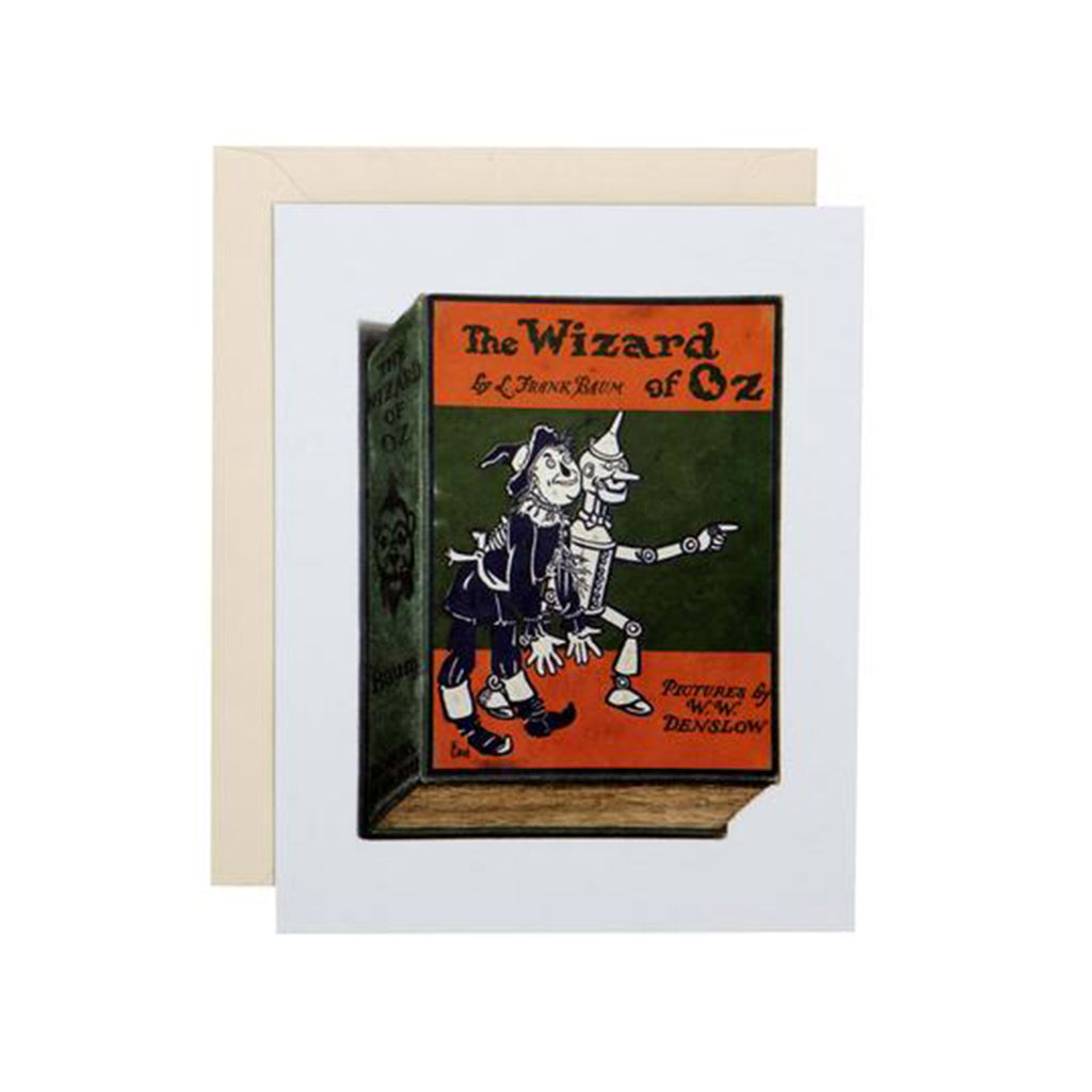 chronicle princeton architectural press classic paperbacks notecards with envelopes l frank baum wizard of oz sample card