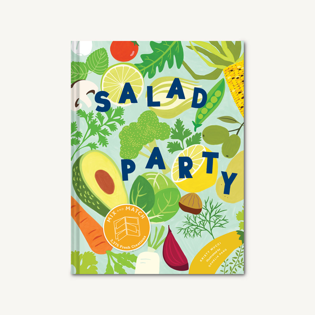 chronicle salad party mix and match to make 3375 fresh creations recipe book cookbook cover