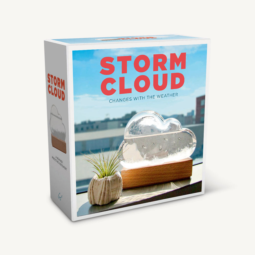 chronicle storm cloud weather predicting instrument in packaging