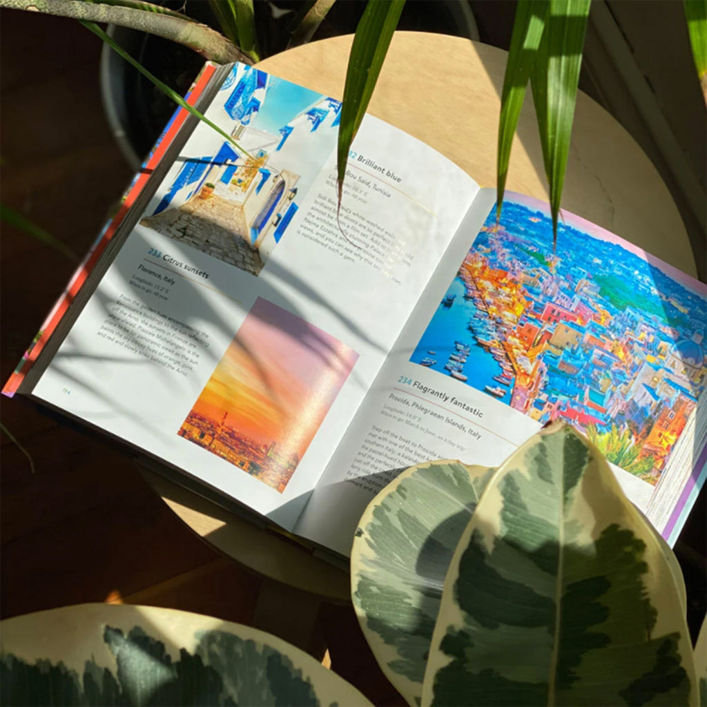 chronicle the rainbow atlas guide to world's 500 most colorful places book italy sample page