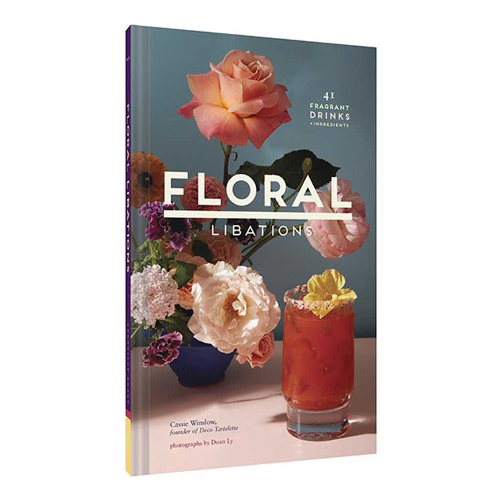 floral libations cocktail recipe book