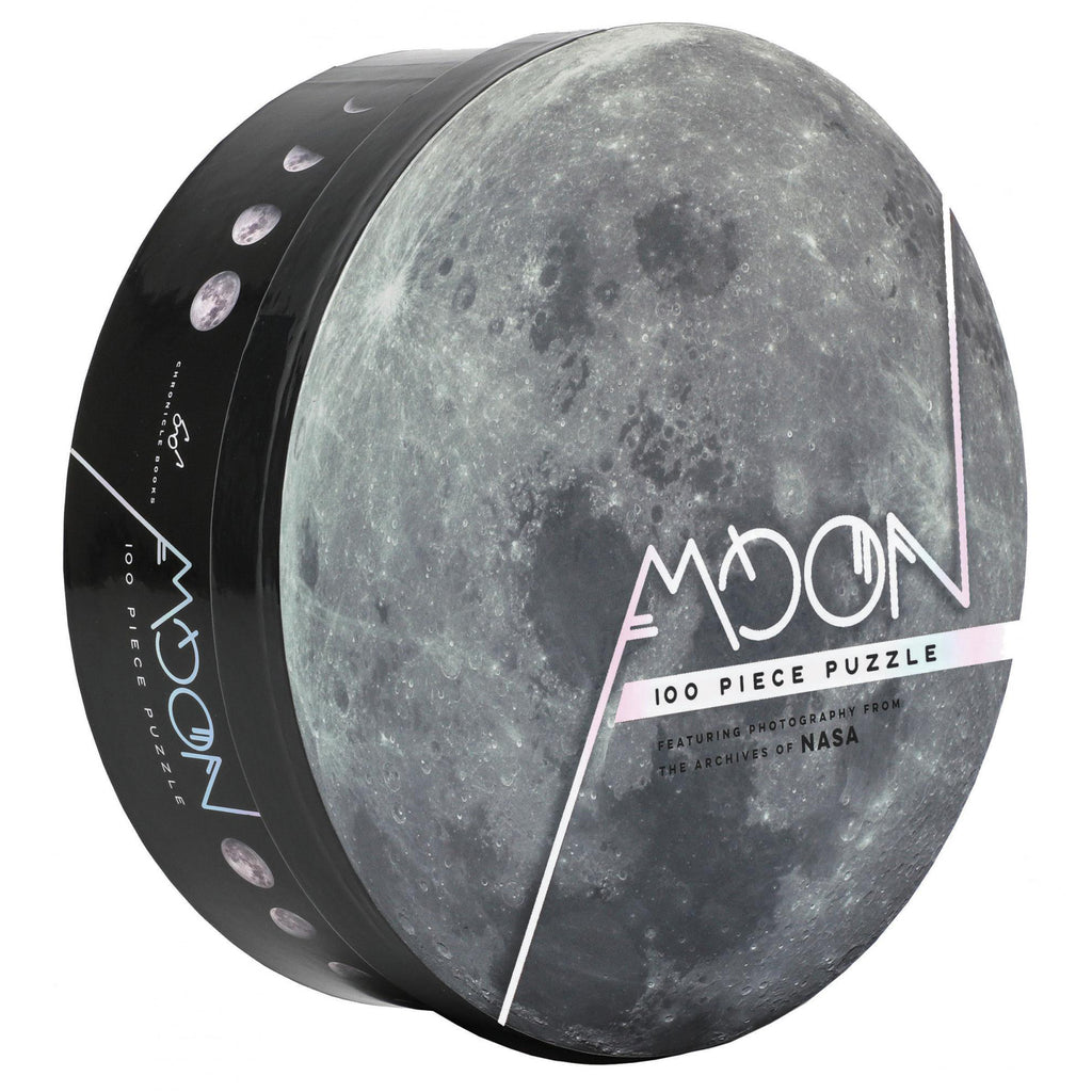 100 piece moon jigsaw puzzle