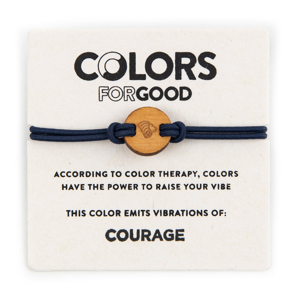 colors for good courage bracelet with charm
