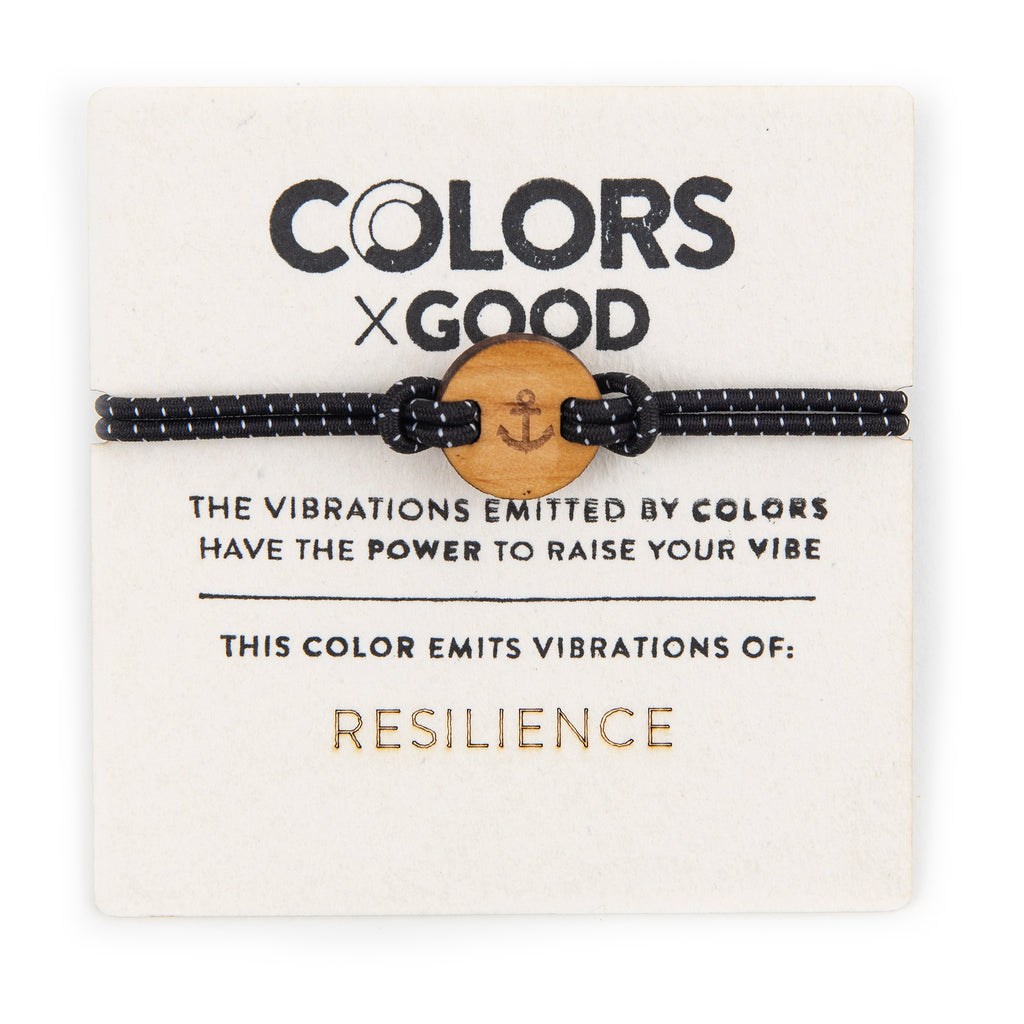 colors for good resilience bracelet with charm