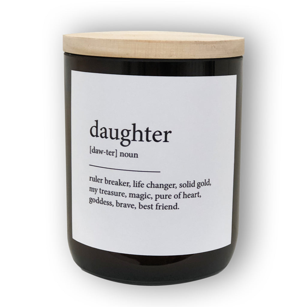 the commonfolk collective daughter soy candle