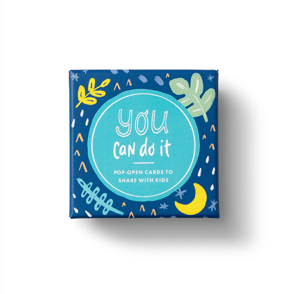 compendium you can do it thoughtfulls for kids pop open cards with different inspiring quotations in packaging