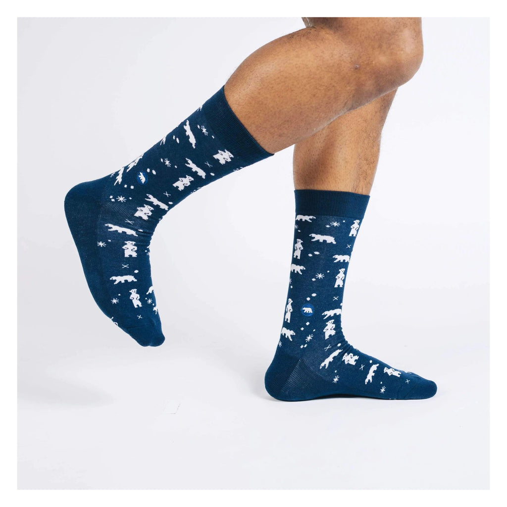 conscious step socks that protect the arctic medium