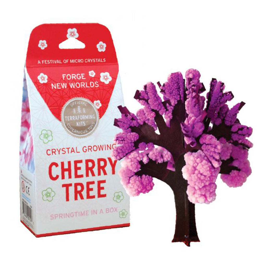 copernicus cherry blossom tree crystal growing kit