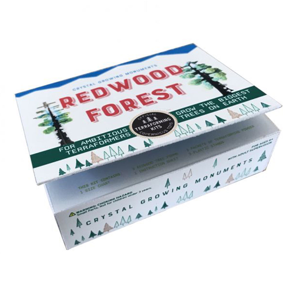 copernicus redwood forest crystal growing monuments kit box