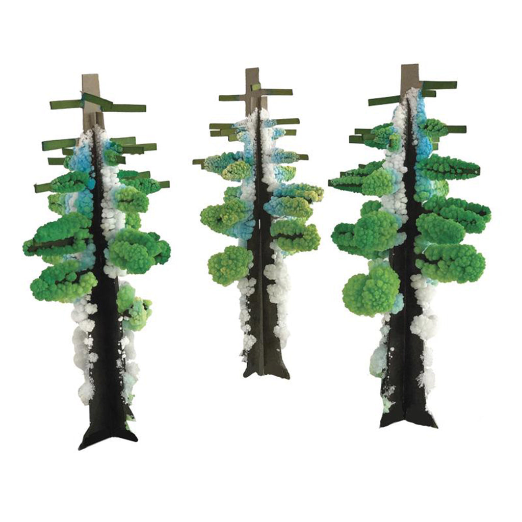 copernicus redwood forest crystal growing monuments kit trees with crystals