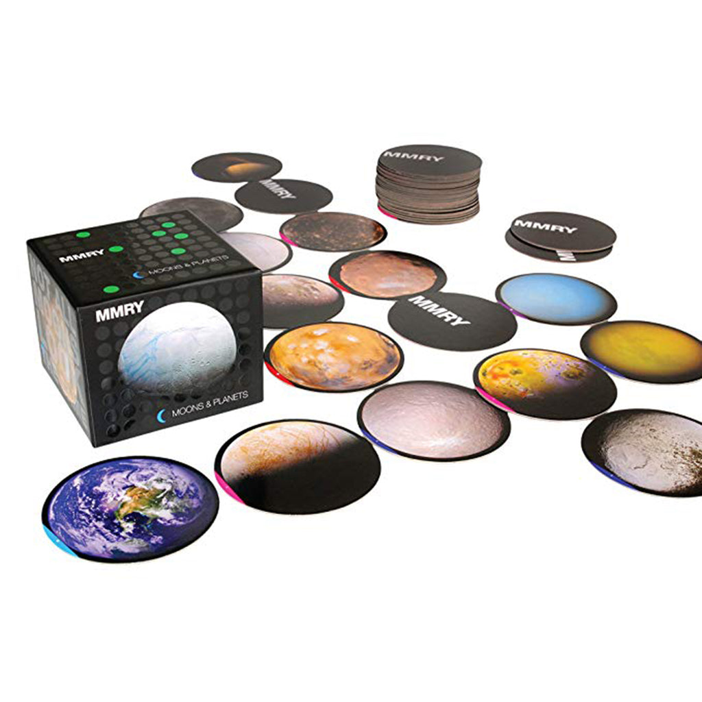 MMRY Moons and Planets Memory Matching Game