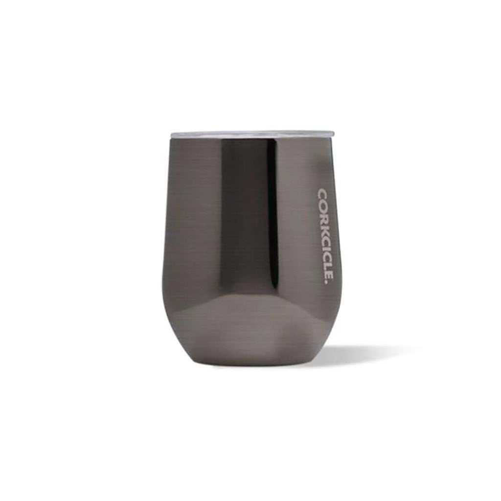 Corkcicle 12 oz Stemless Cup in Gunmetal