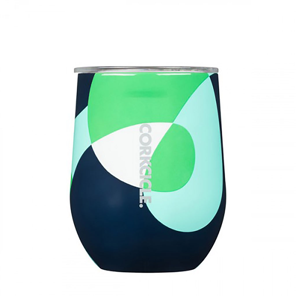 Corkcicle 12 oz Stemless Cup in Mod Twist