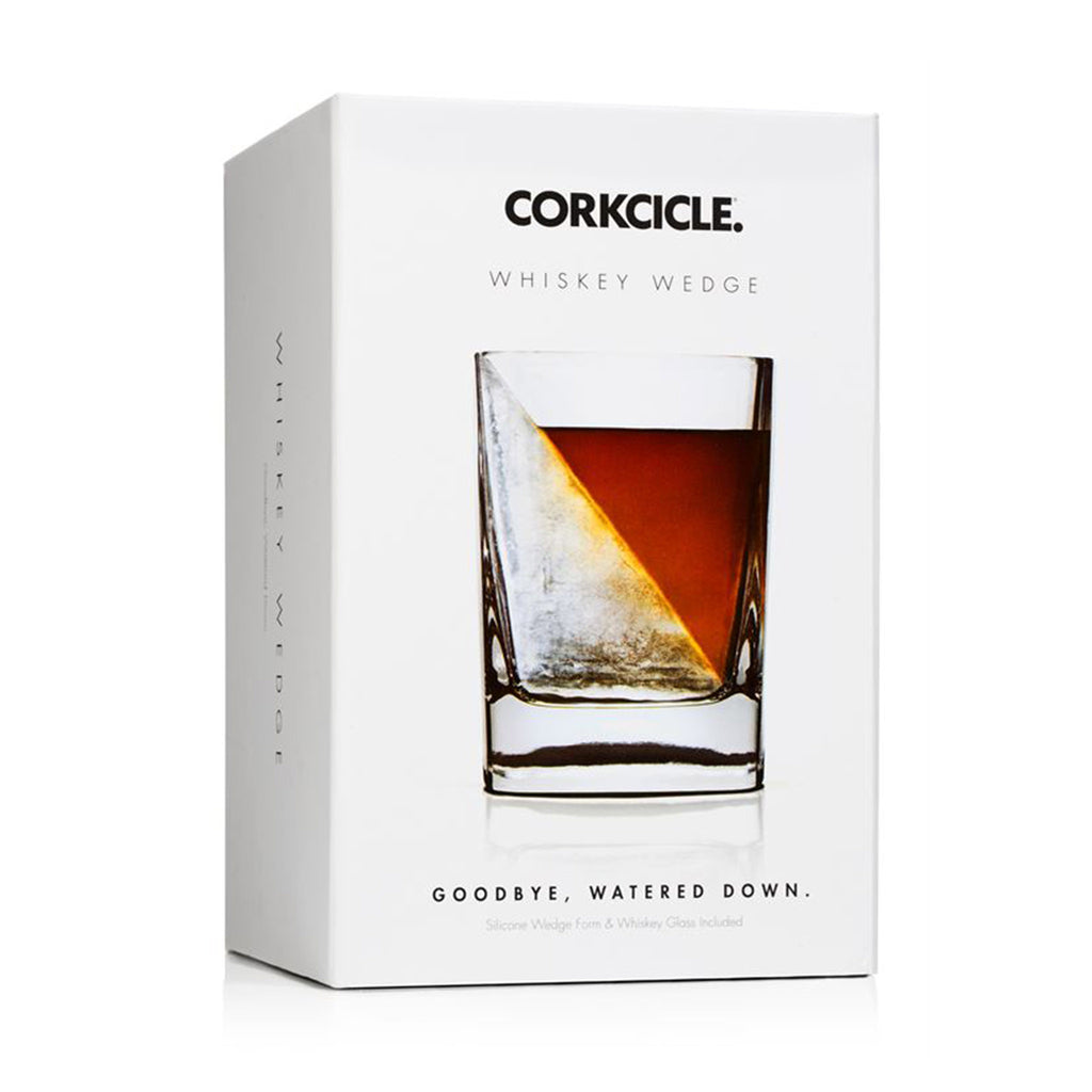 corkcicle whiskey wedge in packaging