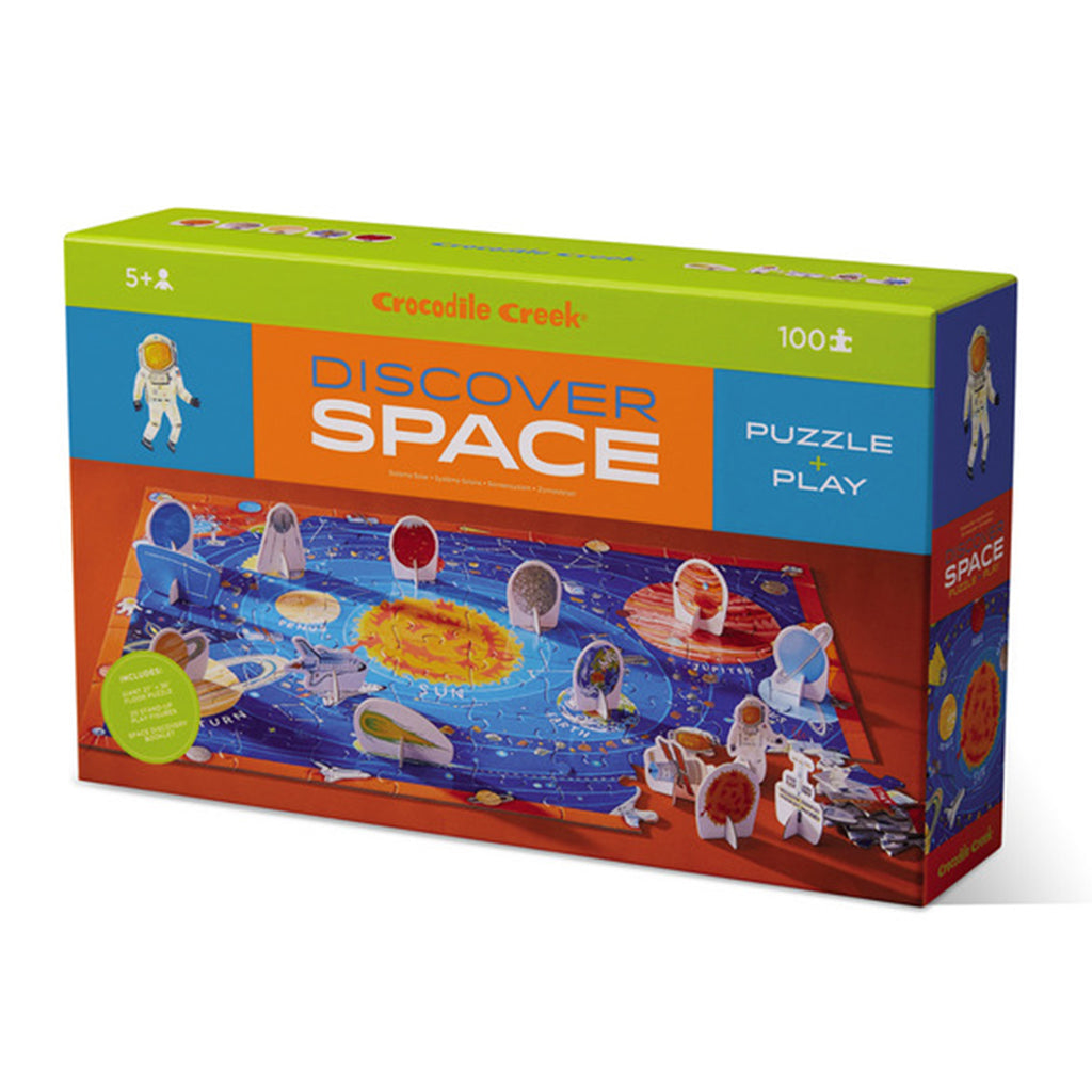 discover space learn play 100 piece jigsaw puzzle