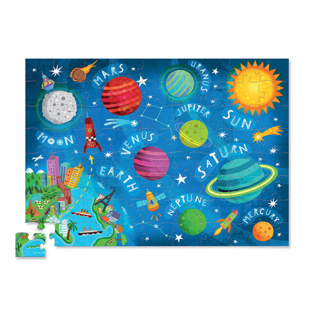 72 piece space jigsaw puzzle
