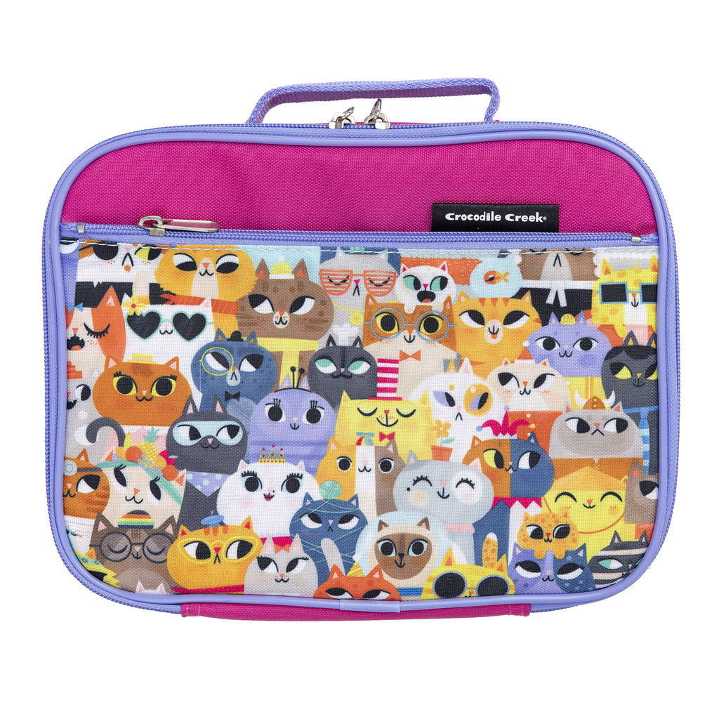 lots of cats lunch box