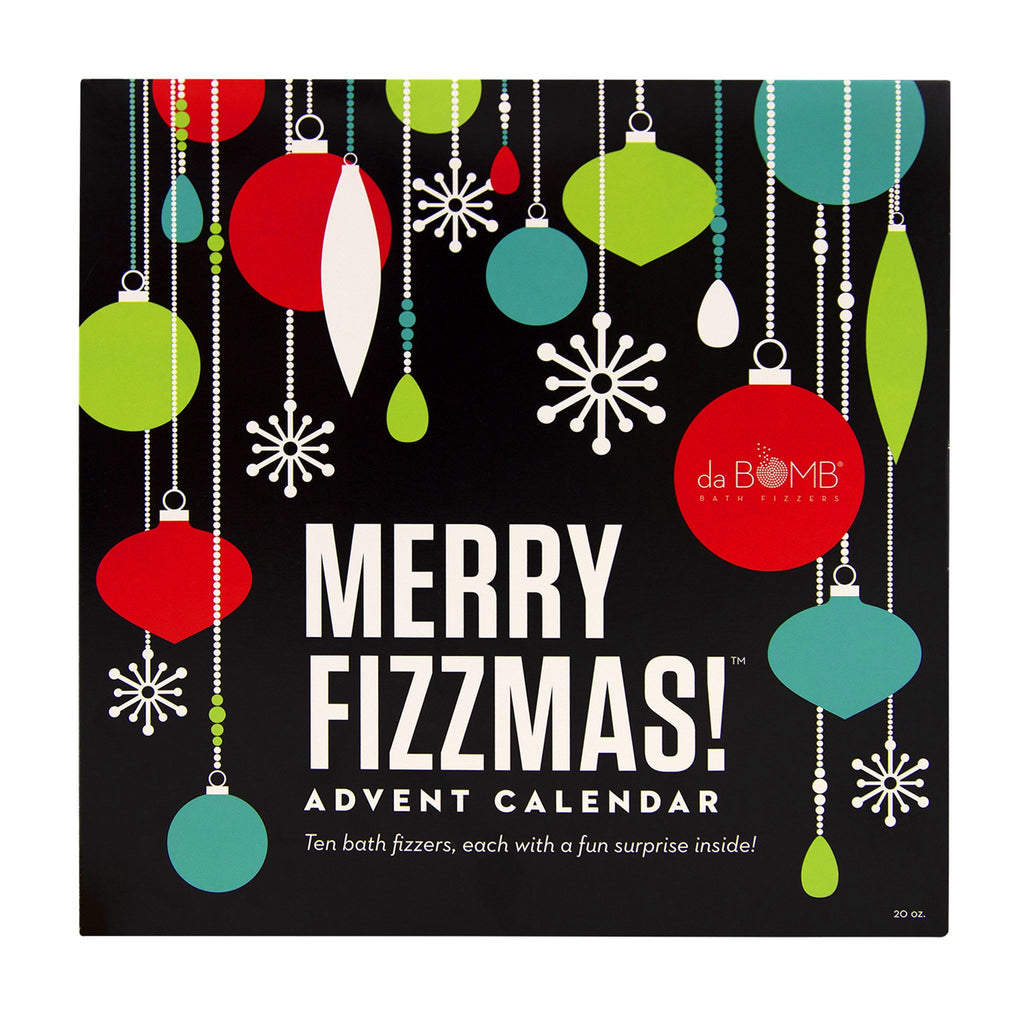 da bomb bath fizzers 2019 merry fizzmas advent calendar box cover