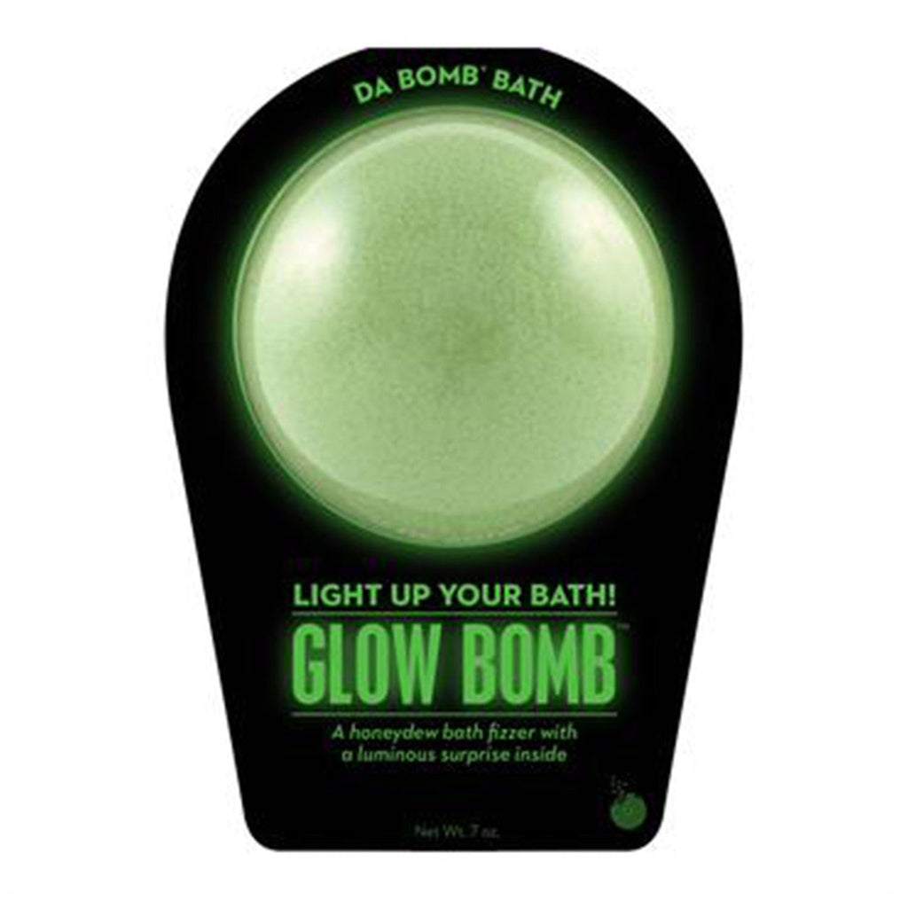 da bomb glow bomb bath fizzer with luminous surprise packaging front