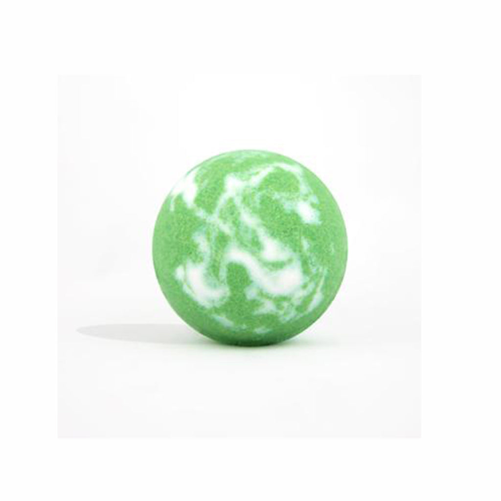 da bomb mystery bomb green and white mystery scented bath fizzer with surprise inside
