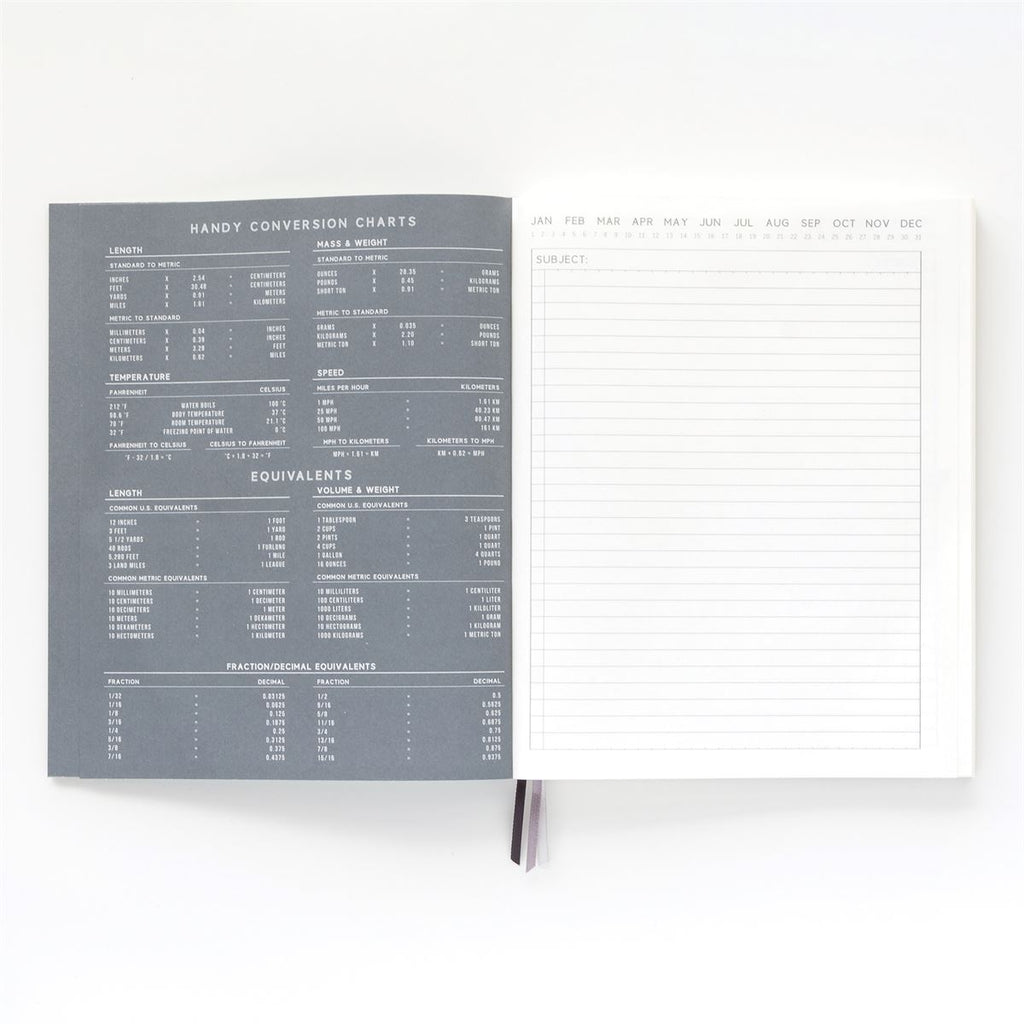 designworks black standard issue #3 undated planner