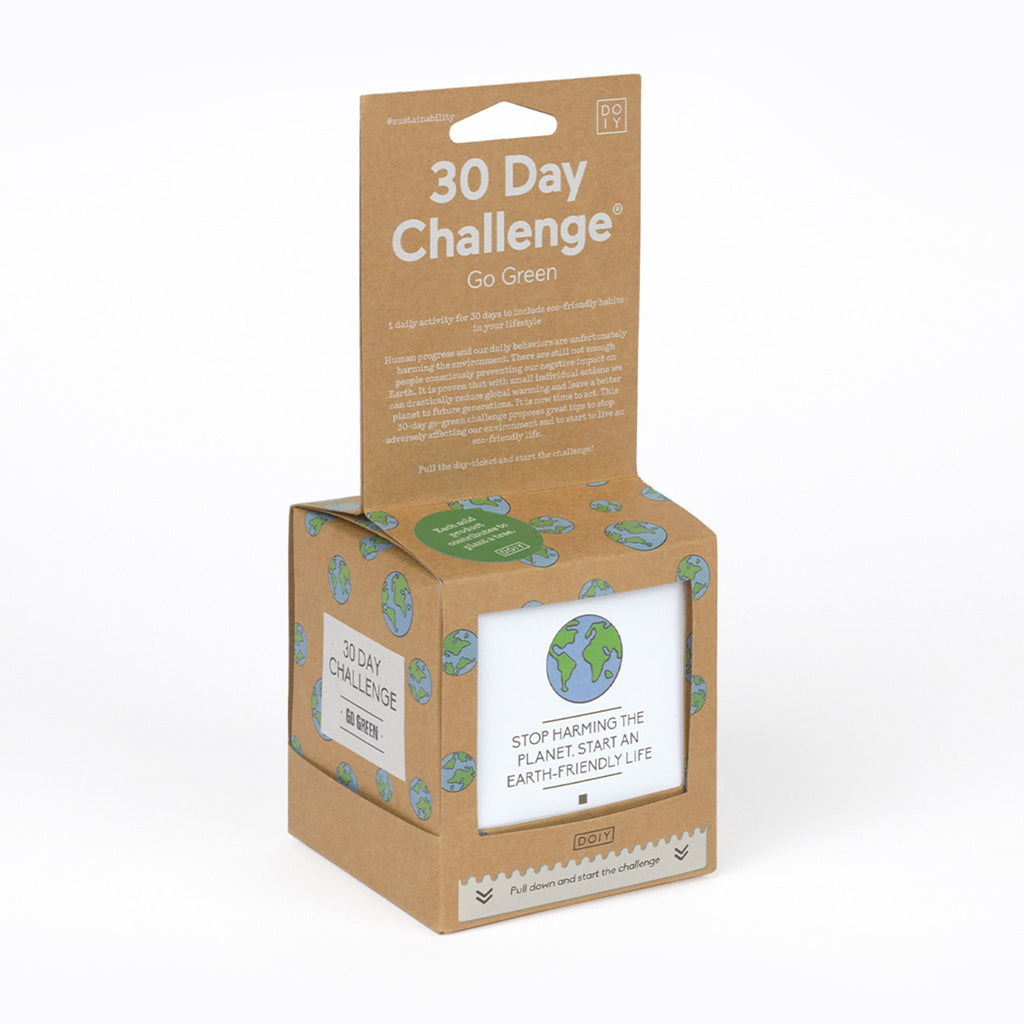 doiy design 30 day challenge go green in packaging