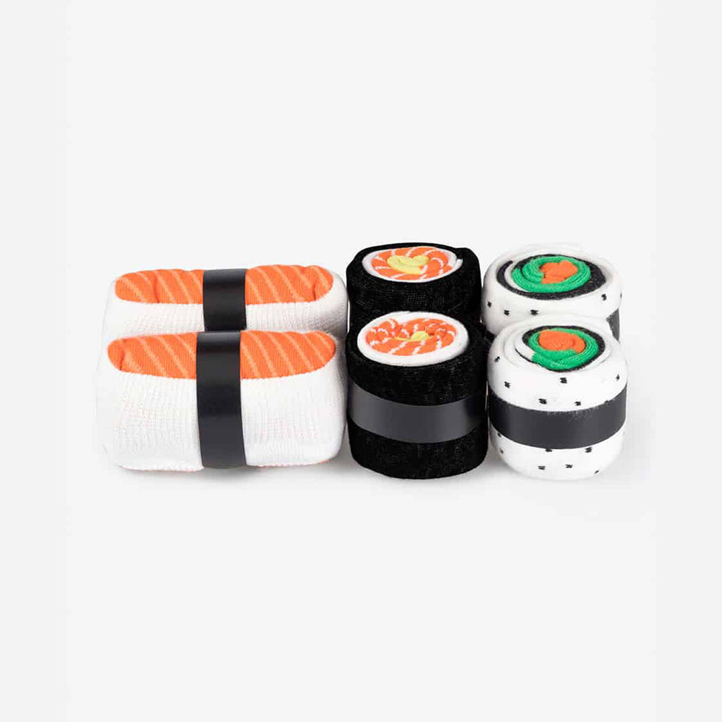 doiy design salmon lovers sushi socks 3 pack