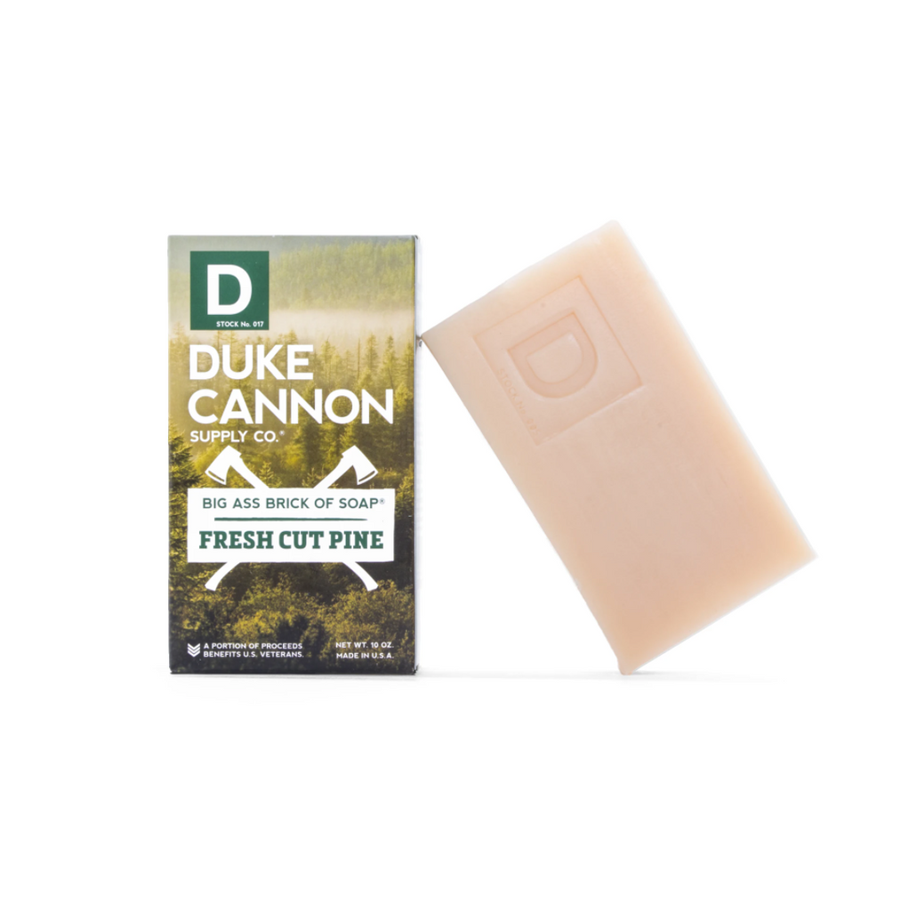 duke cannon big ass soap fresh cut pine