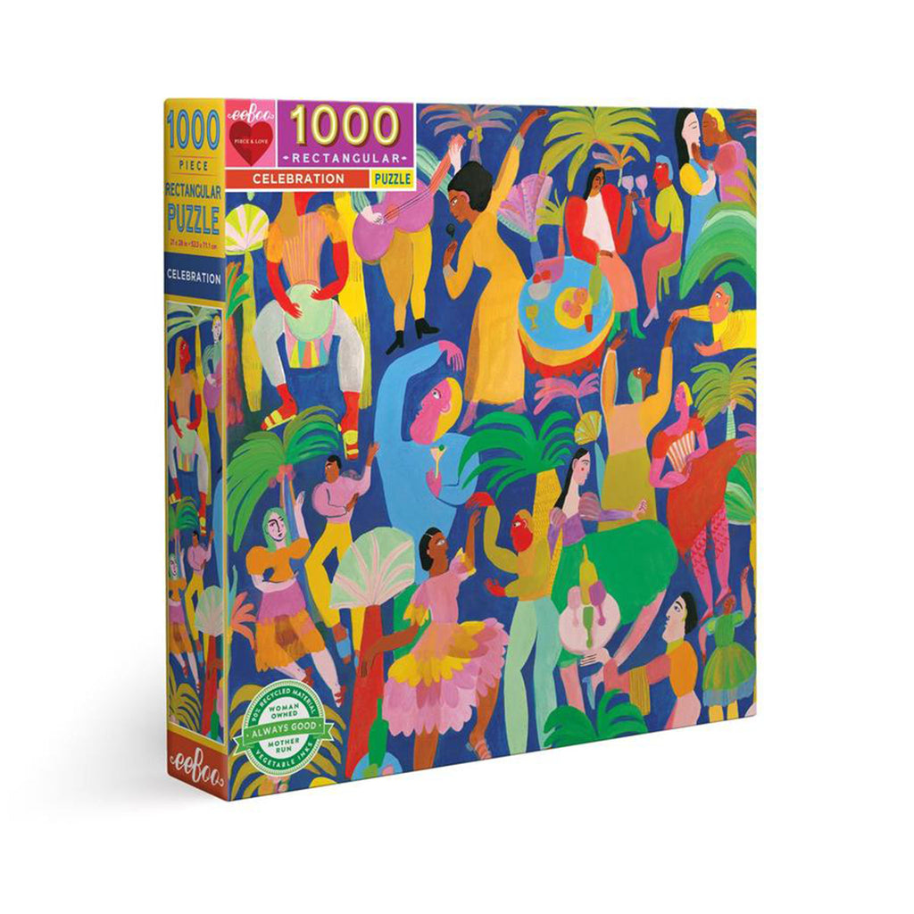 eeboo 1000 piece celebration jigsaw puzzle