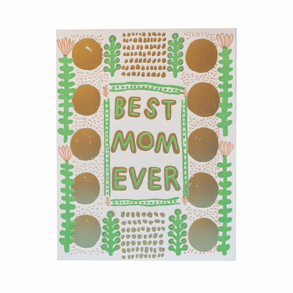egg press best mom every happy mothers day greeting card with kraft envelope
