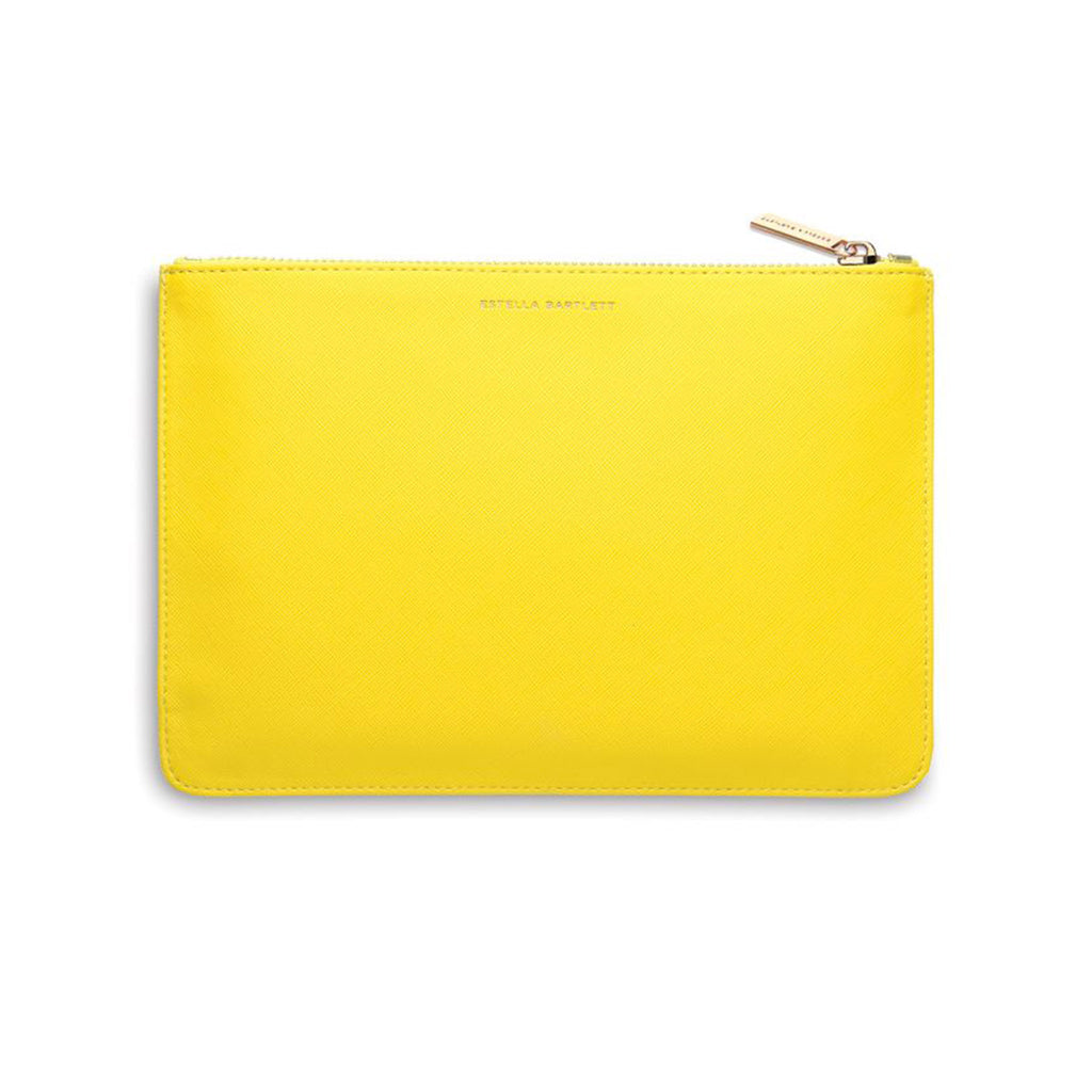 estella bartlett happy thoughts yellow medium pouch back