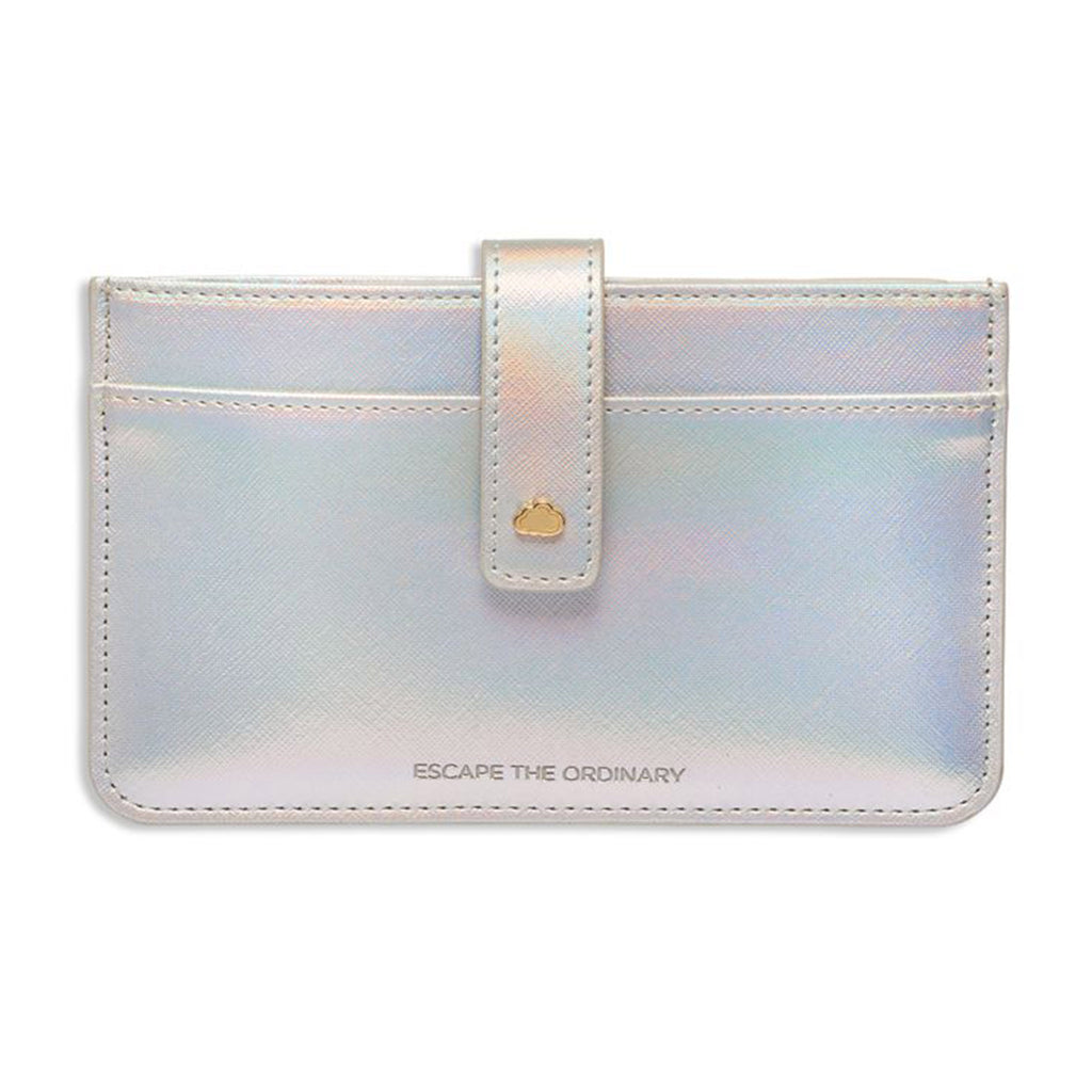 estella bartlett iridescent escape the ordinary travel document wallet closed