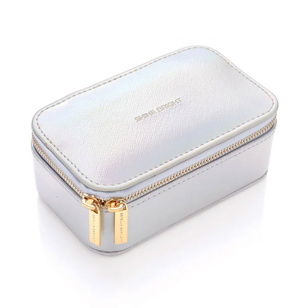 estella bartlett shine bright iridescent mini jewelry box closed top angle