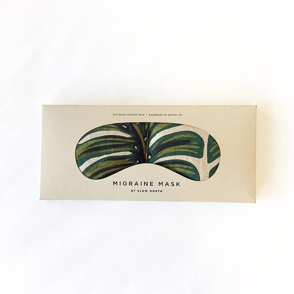 Slow North Eye Mask Therapy Pack in Tropical Monstera