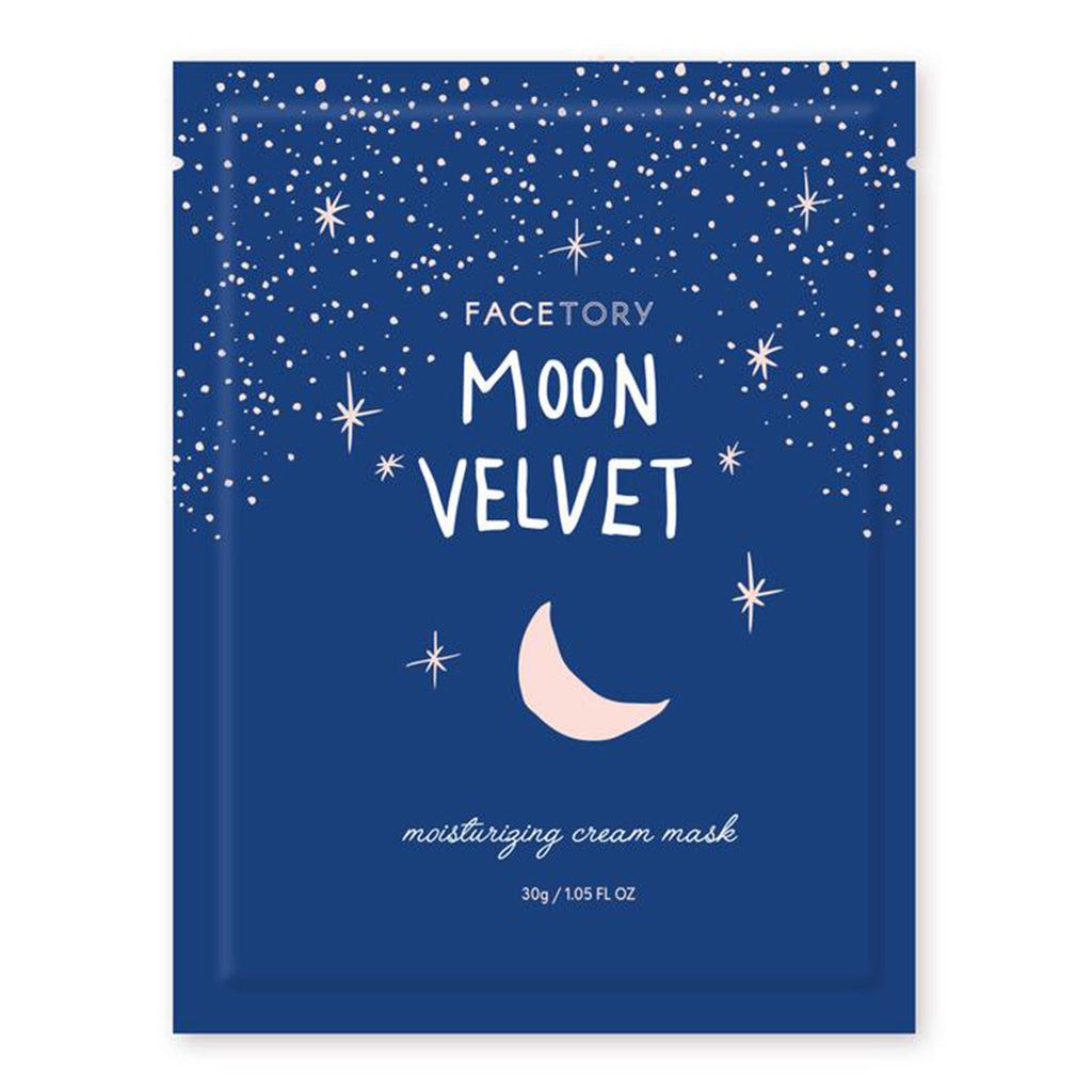 FaceTory Moon Velvet Moisturizing Cream Sheet Face Mask