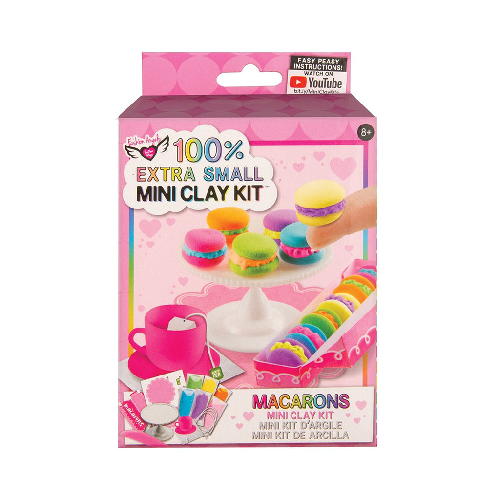 fashion angels macarons extra small mini clay food kit box front