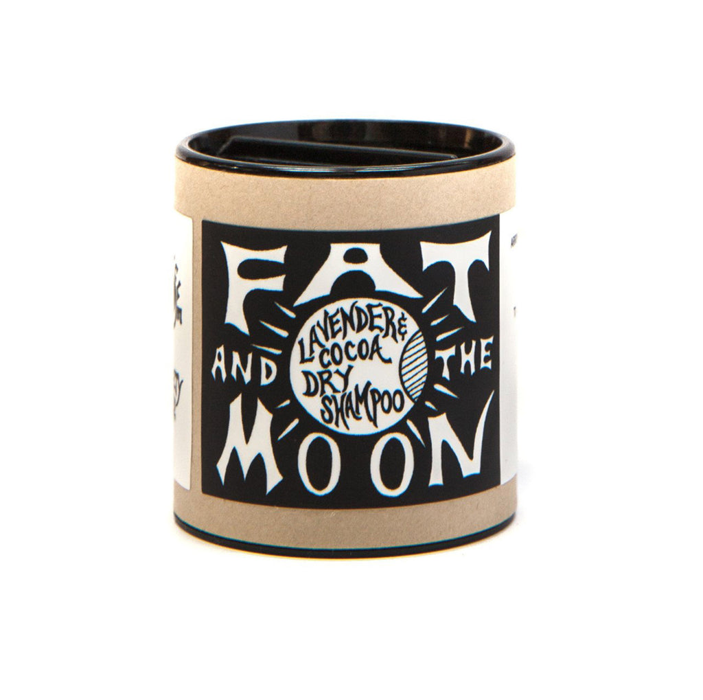 fat and the moon lavender and cocoa dry shampoo 2 ounce container