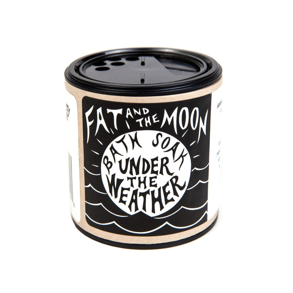 fat and the moon under the weather bath soak 6 ounce container