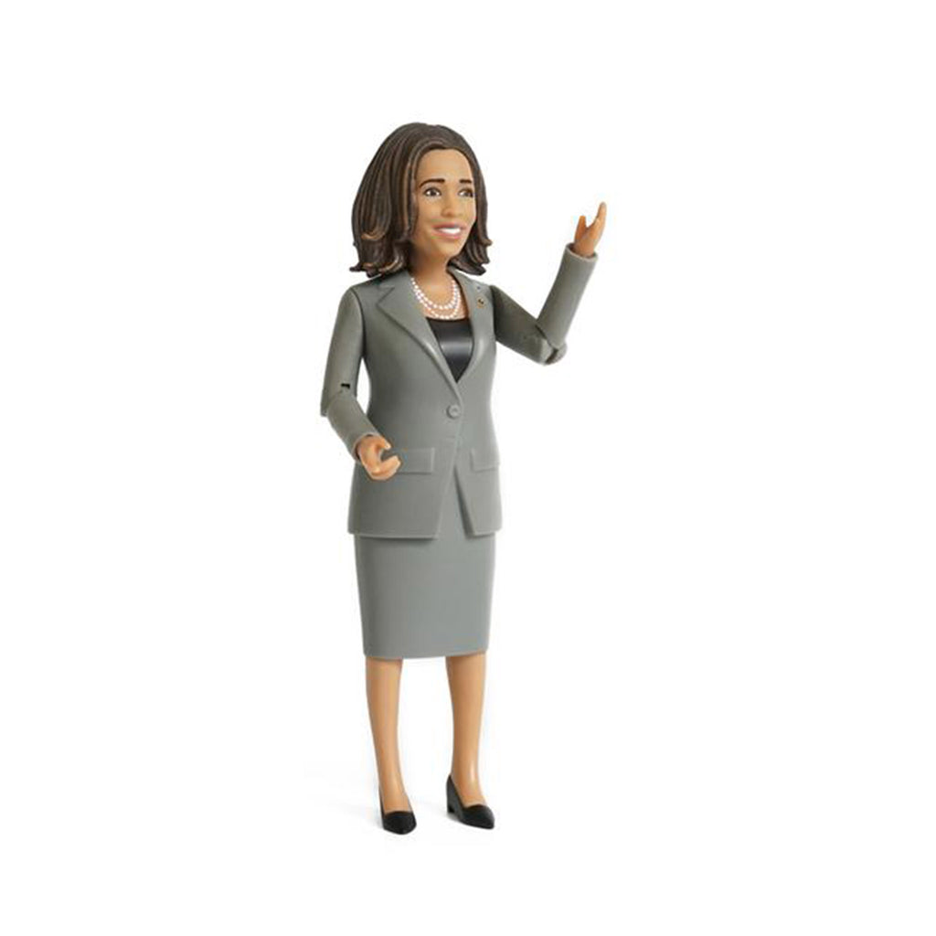 fctry kamala harris action figure side view