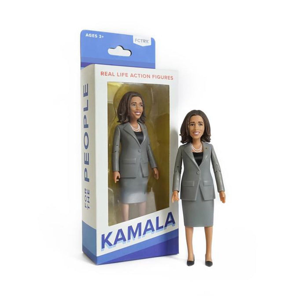 fctry kamala harris action figure with box