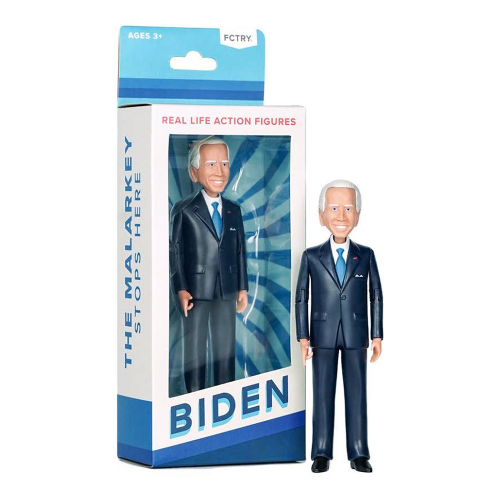 fctry president-elect joe biden poseable action figure with box